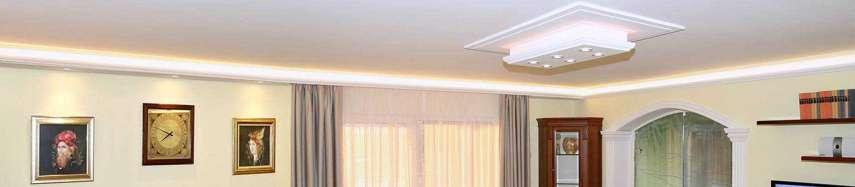 Így találja meg a megfelelő díszlécet LED világítás kialakításához