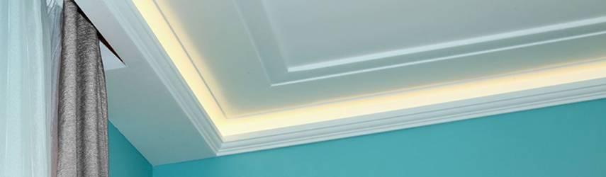 Karnistámasz megoldások rejtett világítás kiépítésére alkalmas LED stukkók esetén 3.